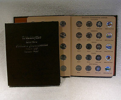 1999   2008 State Quarter P D S Proof   Colorized   200 Coin Set   Dansco Album