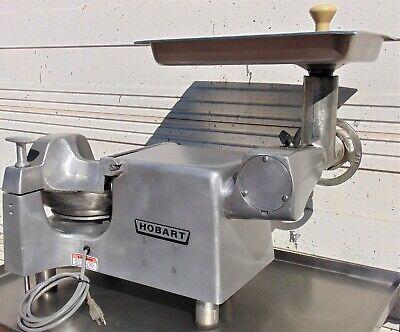 Hobart Buffalo Chopper Food Processor W Meat Grinder Attachment- 84145
