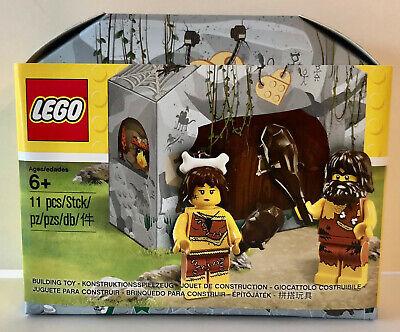 LEGO 5004936 Cave Set w/ Caveman & Cavewoman Minifigures Promotion NEW