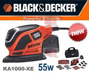 Black & Decker Mouse® Detail Sander + 22 Accessories Ryde Area Preview