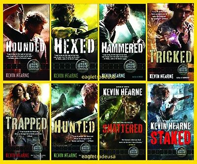 The Iron Druid Chronicles Novels By Kevin Hearne  Books 1 8 In Series  Mm Pb New