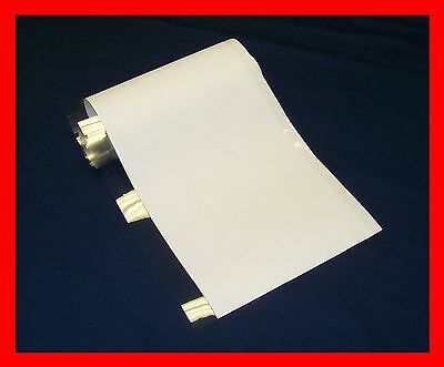 """10 YD 9"""" Brodart Just-a-Fold III Archival Book Jacket Covers - super clear mylar"""