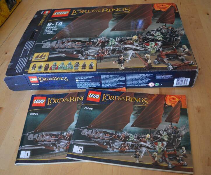 Lego Set 79008 The Lord Of The Rings Pirate Ship Ambush Toys