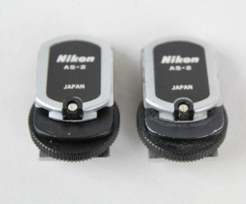 (2) NIKON AS-2 Flash Coupler F/ F2 35mm Camera