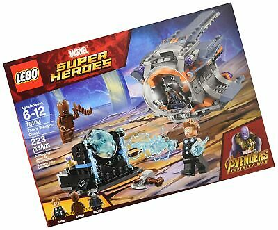 LEGO - Marvel Super Heroes: Avengers Infinity War Thor's Weapon Quest 76102