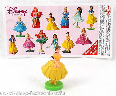 Prinzessin Nr 11 von Zaini Disney Princess 2008 Fremdfigur mit BPZ Zettel