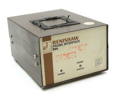 Renishaw Pi4 Cmm Video Touch Probe Interface Metrology Tested