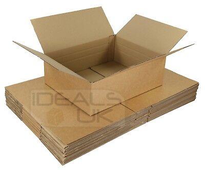 10 x Maximum Size Royal Mail Small Parcel Boxes (450x350x160mm) Cardboard Postal