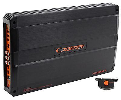 Cadence FXA5000.5 2000 Watt 5-Channel Class A/B Car Audio Amplifier Amp + Remote