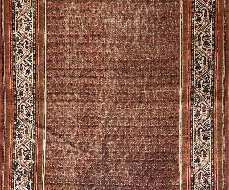Terrific Tribal - 1910s Antique Oriental Rug - Nomadic Carpet - 4.3 X 7 Ft.