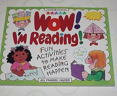 Wow  Im Reading  By Jill Frankel Hauser  2000 Paperback  New