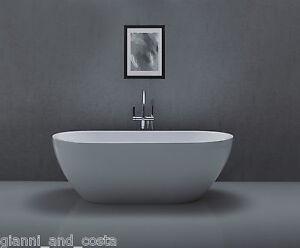 Bathroom Acrylic Free Standing Bath Tub 1700 x 800 x 600 - FREESTANDING