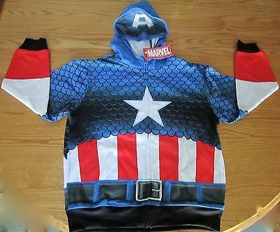 Captain America Civil War Child Hoodie Marvel Comics - Captain America Kostüm Hoodie
