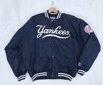 EUC Mens Size 2XL Vintage New York Yankees Diamond Collection Starter Jacket