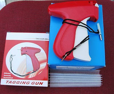 Fine Tagging Gun 10000 14 Clear Extra Fine Plastic Barbs