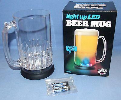 Light-up LED Novelty Beer Mug - 24 oz - Flashing Party Lights-by BigMouth, Inc.  - Novelty Beer Mug