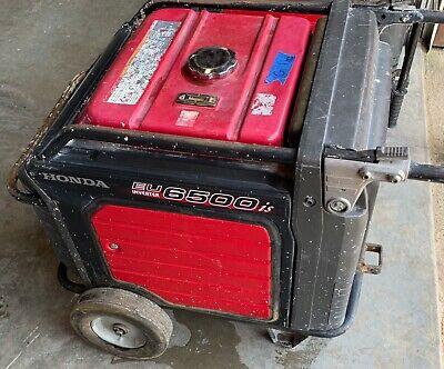 Honda Eu6500is Inverter Gas Generator 120v240v 1749 Hours
