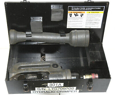 Burndy Y46 Hypress Hydraulic Crimping Tool 10000 Psi