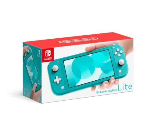 Nintendo Switch Lite Turquoise Blue EMPTY BOX ONLY w/ inserts + manual ONLY