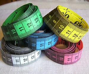 M tre ruban de couture couturi re 150 cm gradu en mm cm - Metre en pouce ...