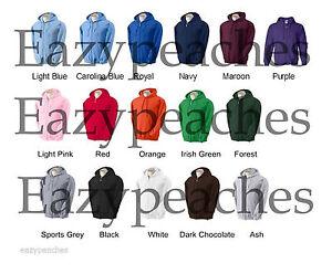 GILDAN-S-2XL-3XL-4XL-5XL-FULL-ZIP-Blend-Hooded-Sweatshirt-Hoodie-Jumper-g18600