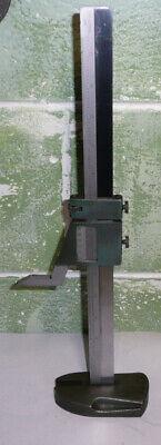 Brown Sharpe 587 13 Vernier Height Gage .001 Resolution