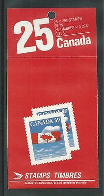 CANADA # 1166b MNH CANADIAN FLAG AND CLOUDS Booklet