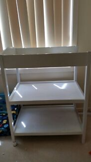 Baby changing bed + table and with baby cot  Roxburgh Park Hume Area Preview