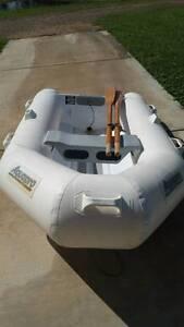 Aquapro SLR710 Rigid Alloy base Inflatable dinghy, Honda motor Kenilworth Maroochydore Area Preview