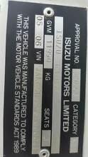 2006 ISUZU TABLE TOP /HIAB  11990 GVM Moruya Eurobodalla Area Preview