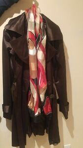 Spring-Fall brown coat