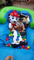 Paw patrol mascot for Hire