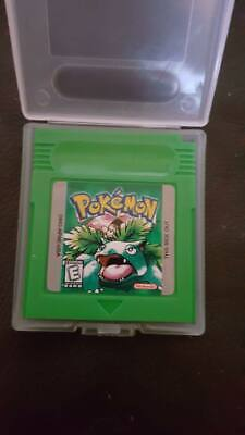 pokemon green version gbc game boy color cart only free post