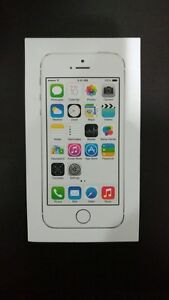 Apple iPhone 5s 16 GB Silver Unlocked ( Excellent Condition )