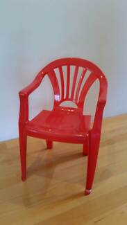 Child red plastic chair Applecross Melville Area Preview