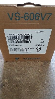 Yaskawa Cimr-v7am20p71 Drive