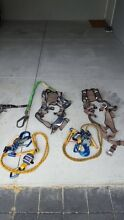 2 X Exofit Harness's & lanyards + full tool belt Carlisle Victoria Park Area Preview