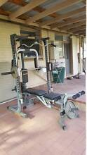 HyperExtension Smith Machine Home Gym with Weights(HE001) Kenwick Gosnells Area Preview