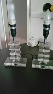 2 x table lamp bases