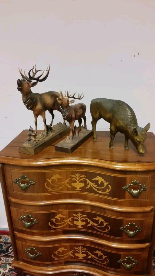 Holzfiguren Tiere in Groß-Gerau