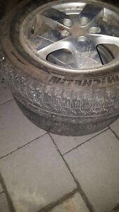 Winter tire with Alloy rims