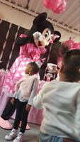 Mickey and Minnie Mouse Party with the