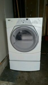 Whirlpool Duet Dryer with pedestal