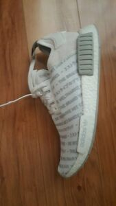 Adidas NMD Whiteout US10 Melbourne CBD Melbourne City Preview