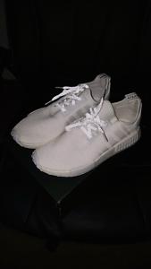 "Adidas NMD R1 ""Triple White Reflective"" 3M US11 Parramatta Parramatta Area Preview"
