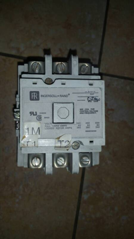 "INGERSOLL RAND CONTACTOR PART # 39162110 "" USED OLD STOCK UNTESTED """