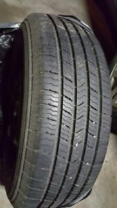 set of four tires with rim 205 60r 15 almost new
