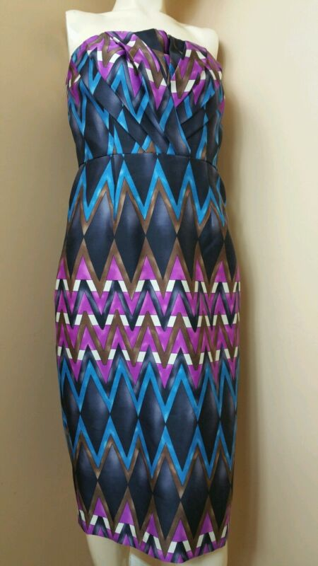 TRACY REESE GRAPHIC PRINT DRESS NWT SIZE 6