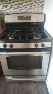 GE stainless steel gas stove (oven not working)