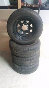 Rims and Tyres suit Suzuki/Ford F100 Perth Perth City Area Preview